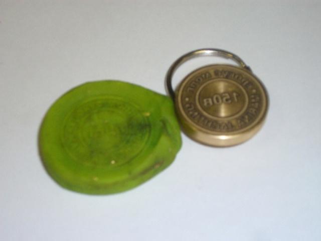 350 руб - Латунная печать